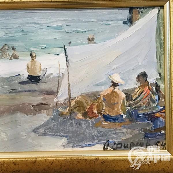 А.П. Фирсов «На пляже»