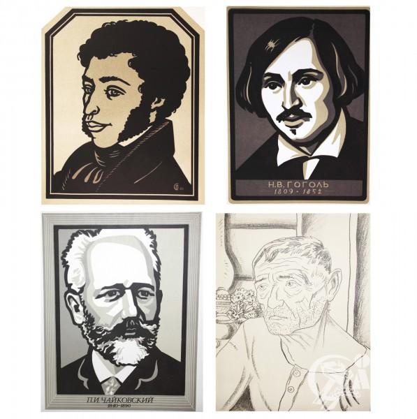 Автолитографии В. Савосина