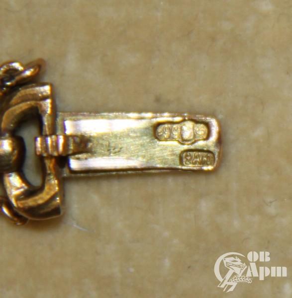 Браслет с эмалями и бриллиантами 2ая Ювелирная Артель