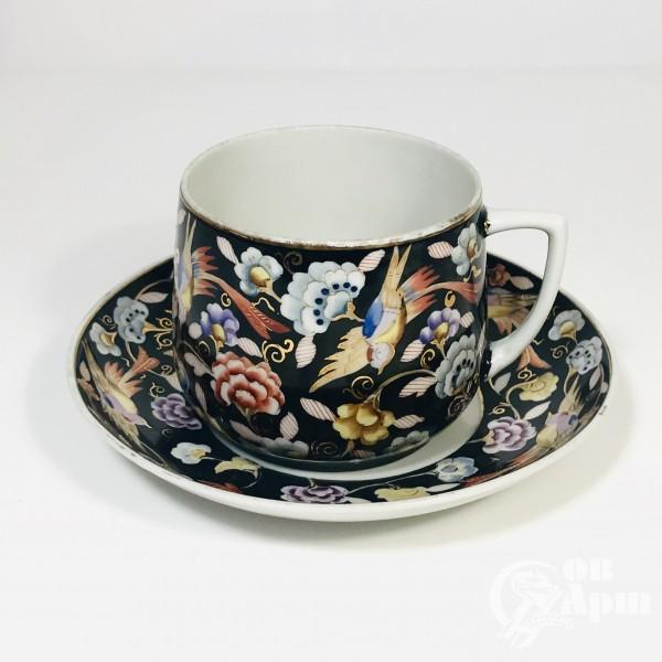 Чайная пара « Экзотическая птица»