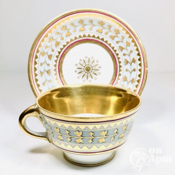 Чайная пара ИФЗ «Византийский орнамент»