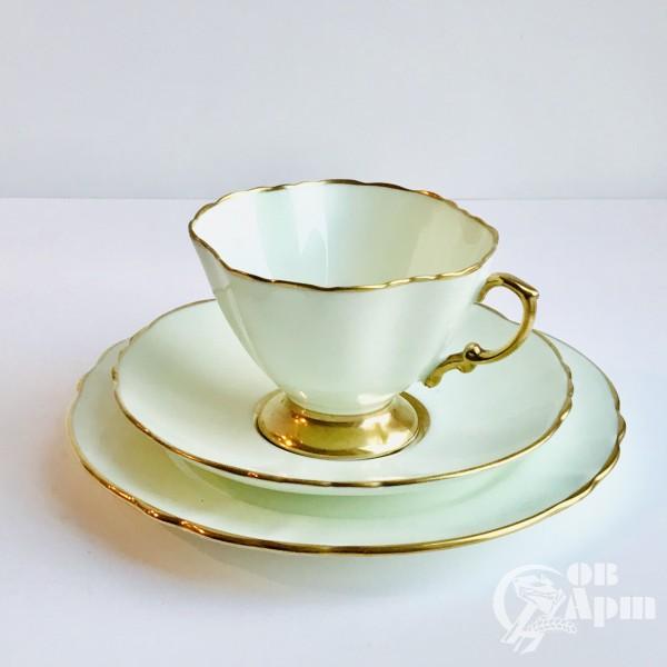 Чайная пара из костяного фарфора