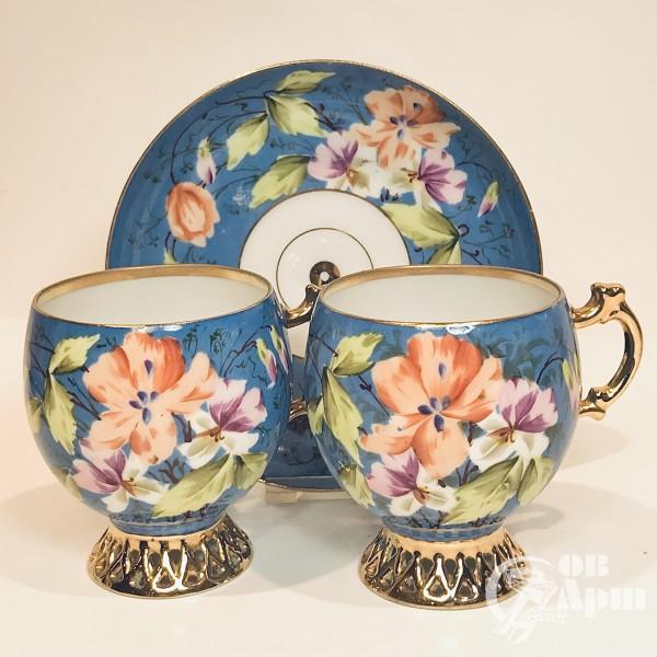 Чайная пара «Клематисы»