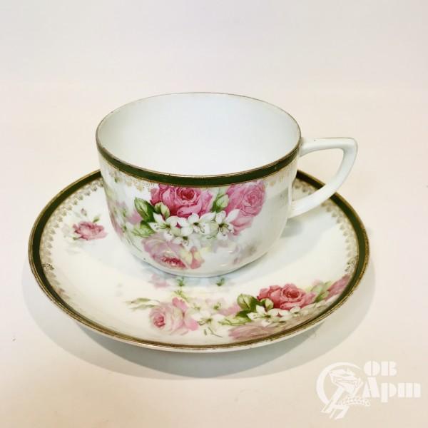 Чайная пара «Роза и жасмин»