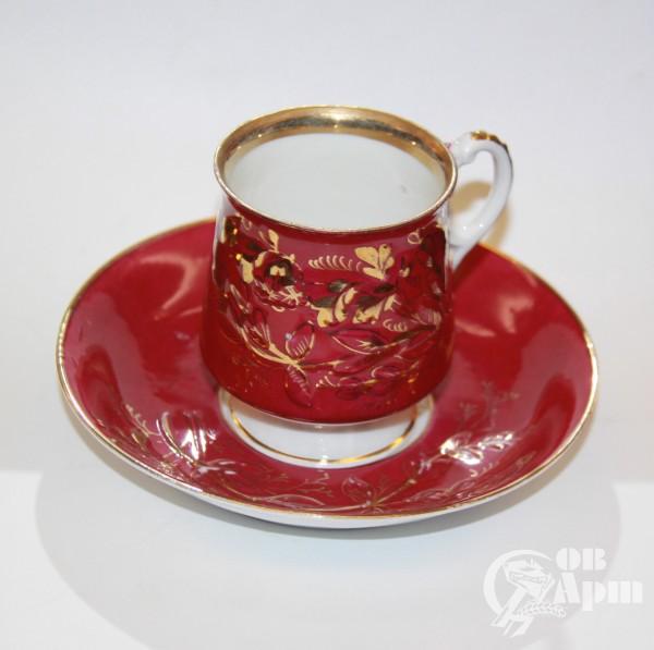 Чайная пара розовая