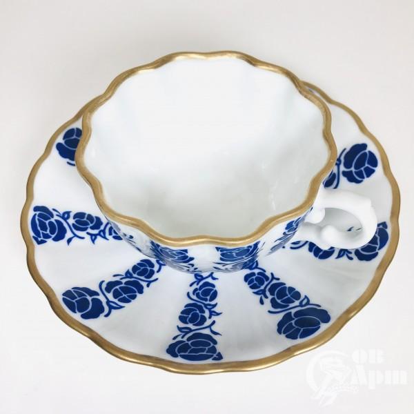 Чайная пара ИФЗ «Синие розы»