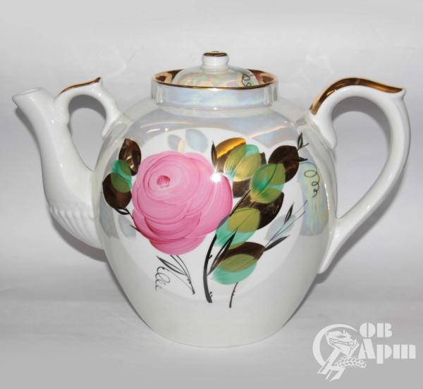 """Чайник большой """"Розы"""""""