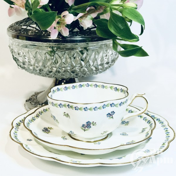 Чайное трио «Незабудки»