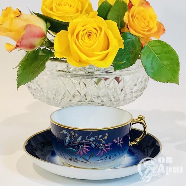 Чайная пара завода Кузнецовых
