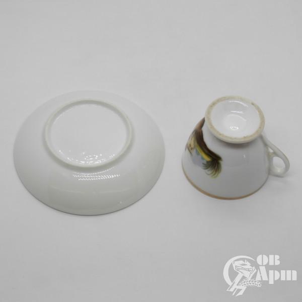 Чайные пары с изображением пейзажей