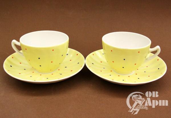 "Чайные пары ""Желтый цвет"""