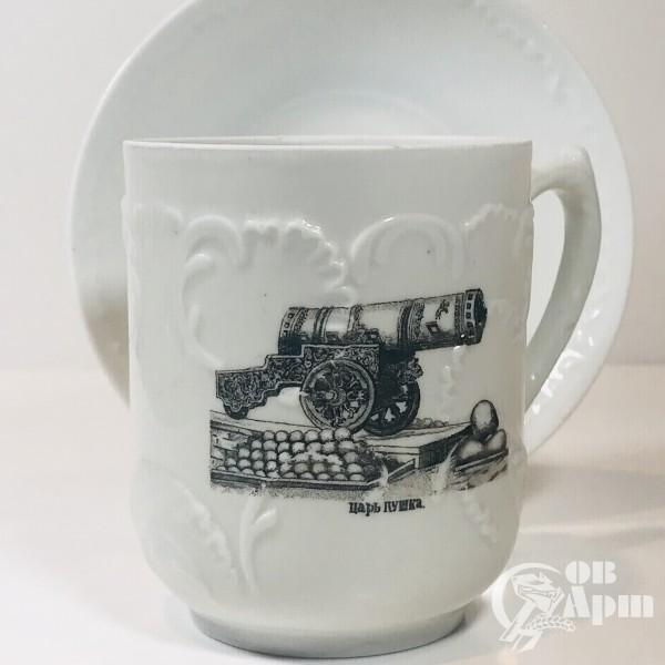 Чайный бокал «Царь - Пушка»
