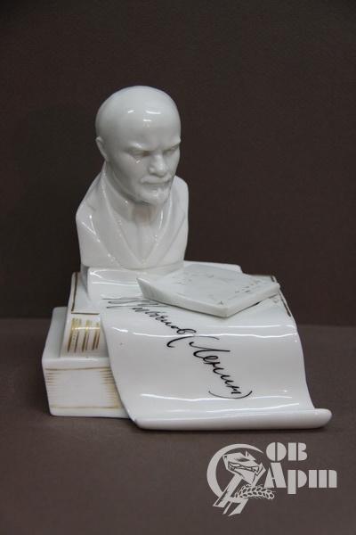 Чернильница с бюстом В.И.Ленина