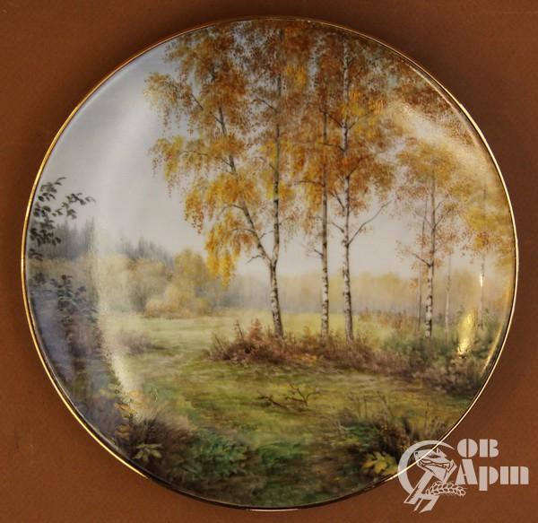 "Декоративная тарелка ""Бабье лето"""