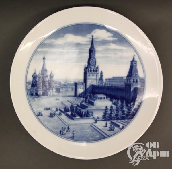 "Декоративная тарелка ""Красная площадь"""