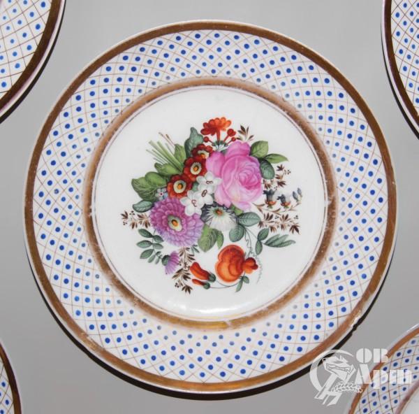 """Декоративные тарелки """"Цветы"""""""