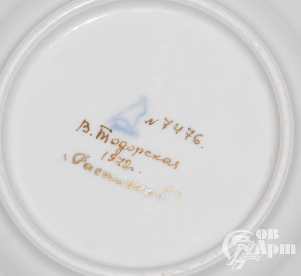 """Десертные тарелки """"Расписные"""""""