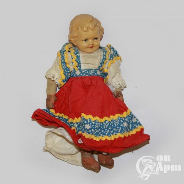 Детская игрушка-кукла целлулоидная