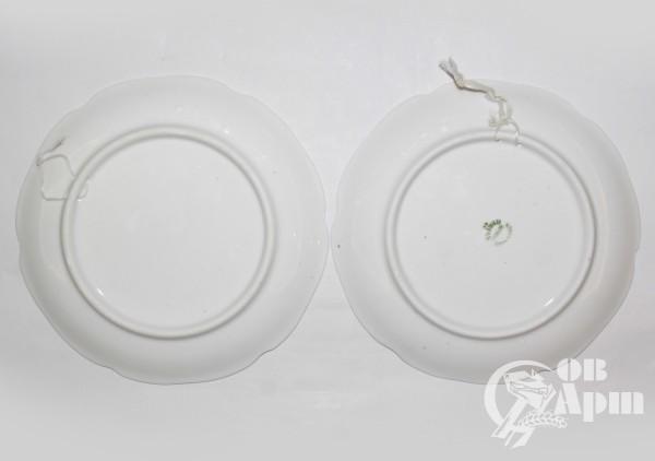 """Две декоративные тарелки """"Фрукты"""""""