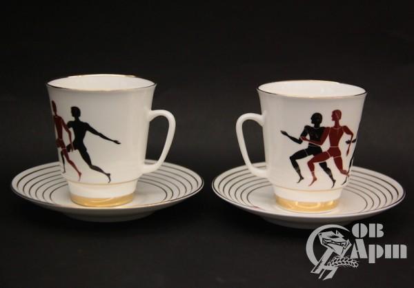 "Две кофейные пары ""Олимпиада"""