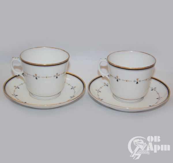 Две пары кофейные