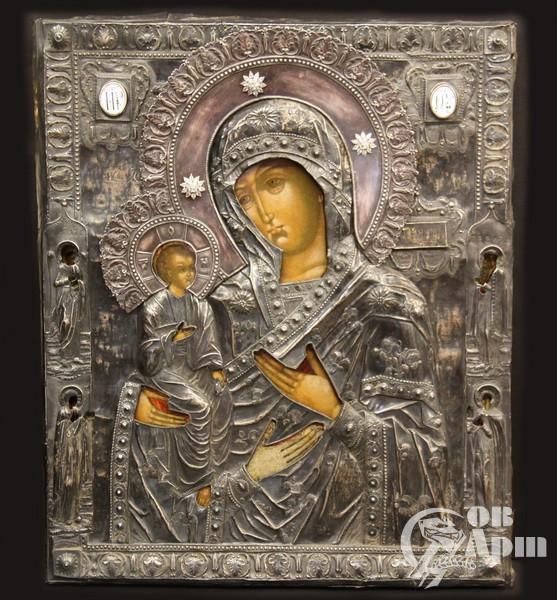 """Икона """"Богородица Троеручница"""""""