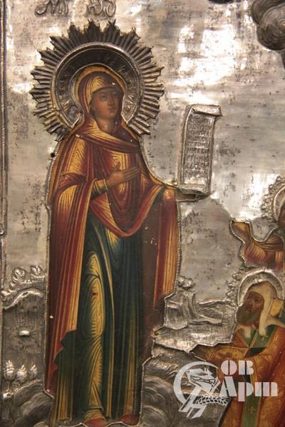 """Икона """"Пресвятая Богородица Боголюбская"""""""