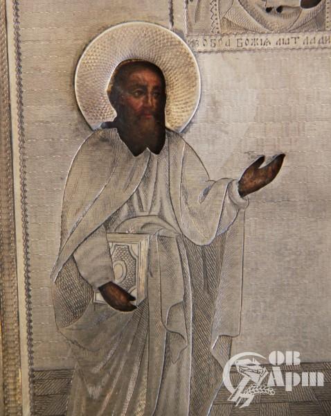 Икона «Святой Апостол Павел и Святая Мария»
