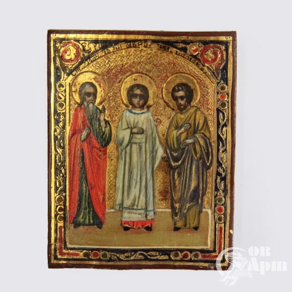 Икона «Святые Гурий, Самон и Авив»