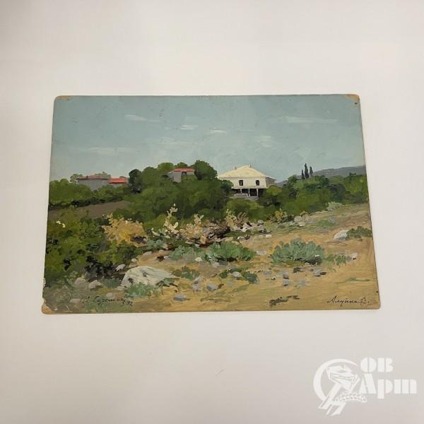 "Картина ""Алупка"" 1892 г."