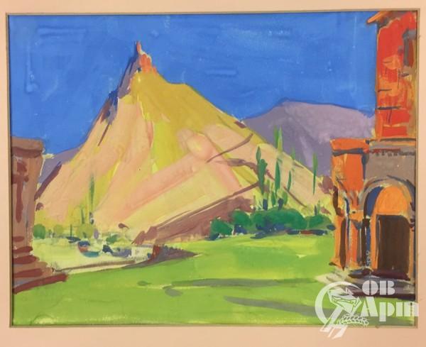 "Картина ""Гора Арагац"""