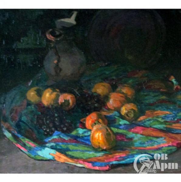 """Картина """"Хурма и виноград"""""""
