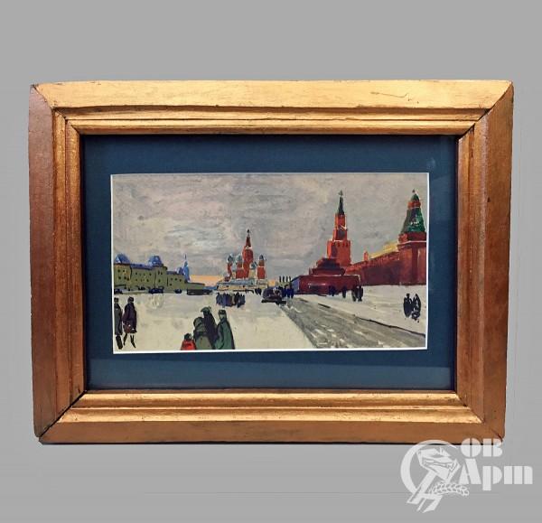 """Картина """"Красная площадь"""""""