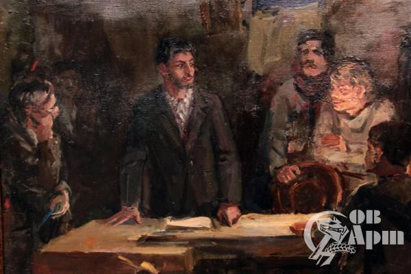 """Картина """"Молодые годы Сталина"""""""