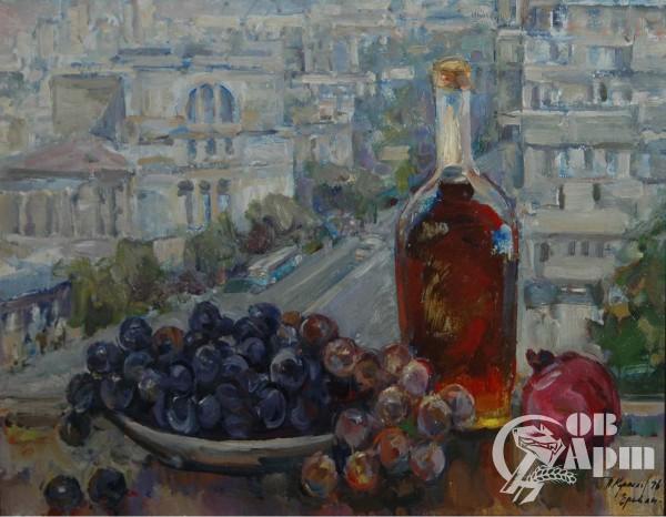 "Картина ""Натюрморт с фруктами"" (""Ереван"")"