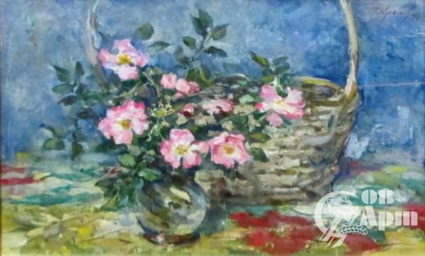 """Картина """"Розовый шиповник"""""""