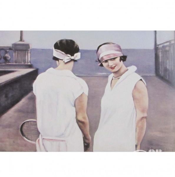 """Картина """"Теннисистки"""""""