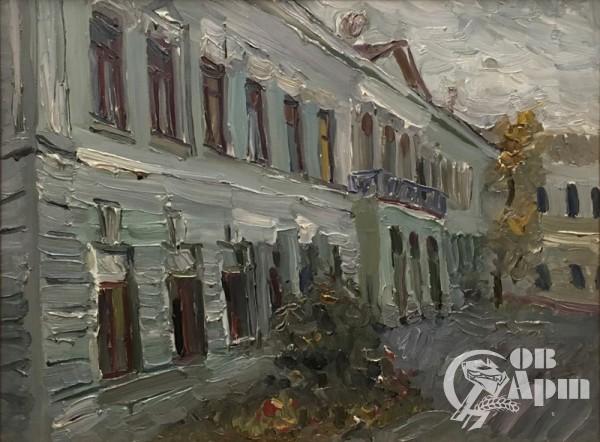 "Картина ""Уголок старой Москвы-2"""