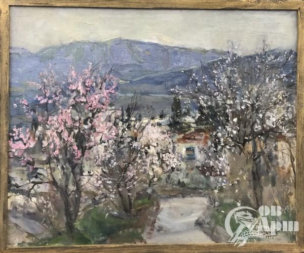 "Картина "" Весна в Крыму"""