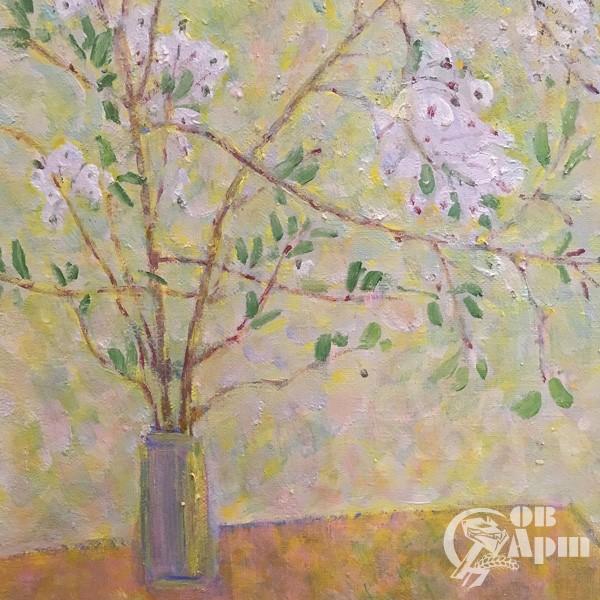 """Картина """"Ветка вишни"""""""