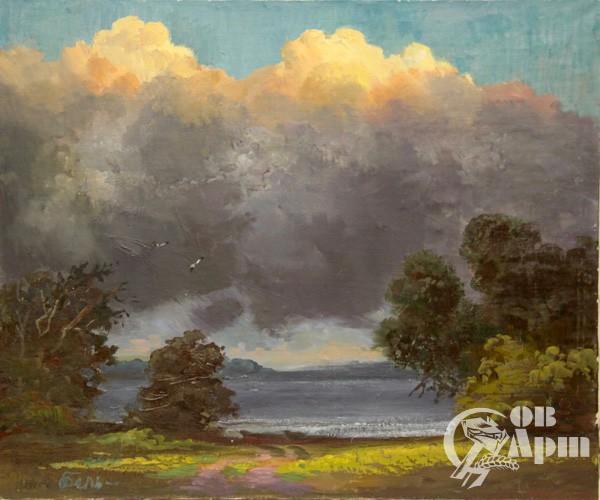 """Картина """"Ветреный день"""""""