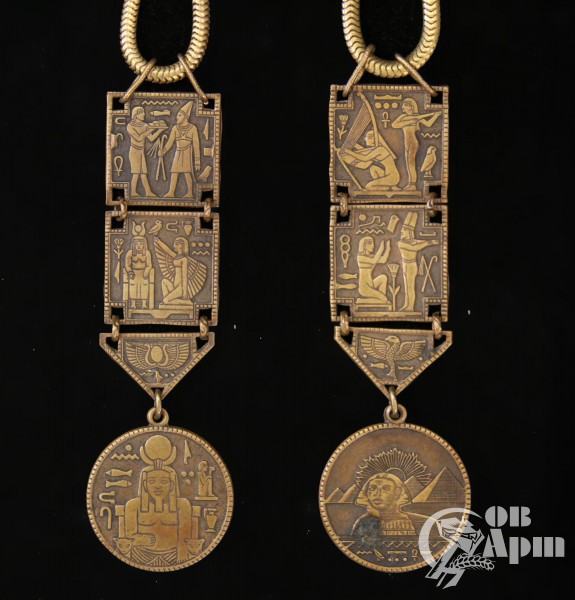 Колье в египетском стиле MIRIAM HASKELL