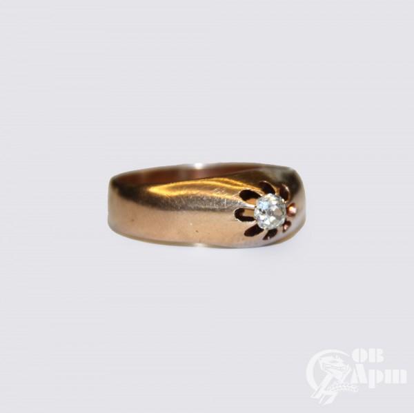 Кольцо бриллиантом
