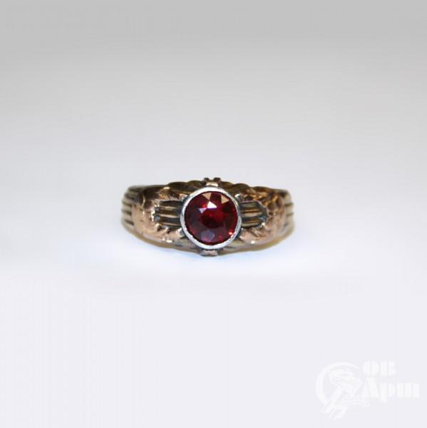 Кольцо с дублетом