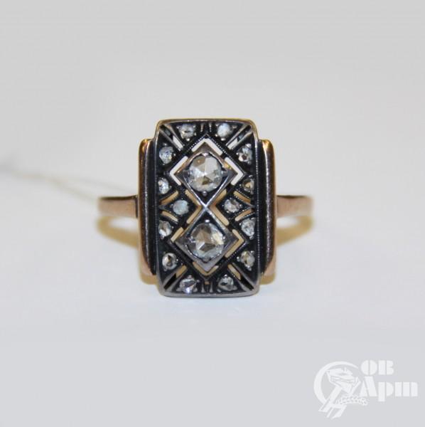 Кольцо в стиле Ар-деко