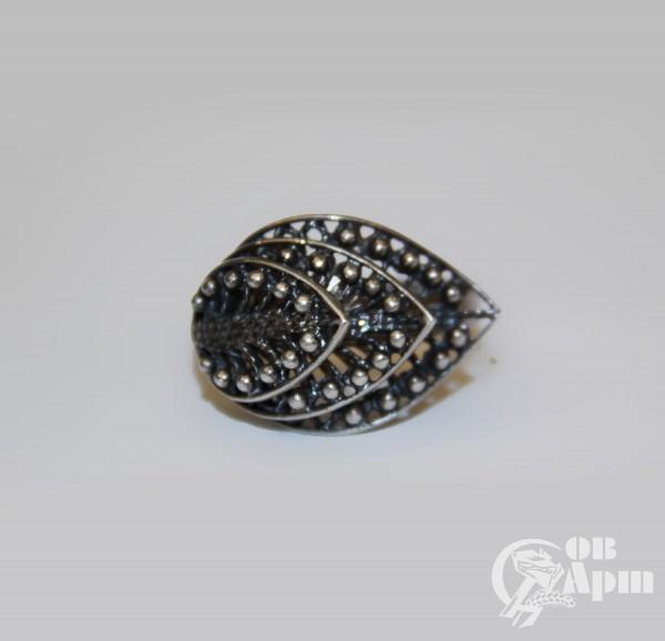 Комплект: серьги  и кольцо