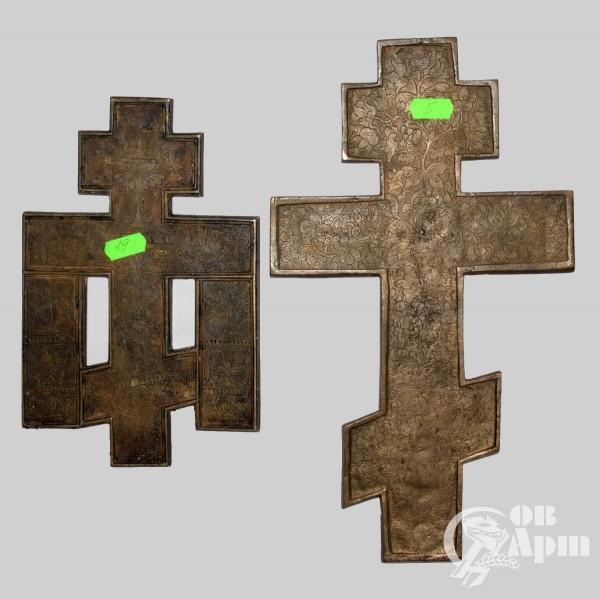 """Крест """"Распятие Христово с предстоящими"""" и крест """"Распятие Христово"""""""