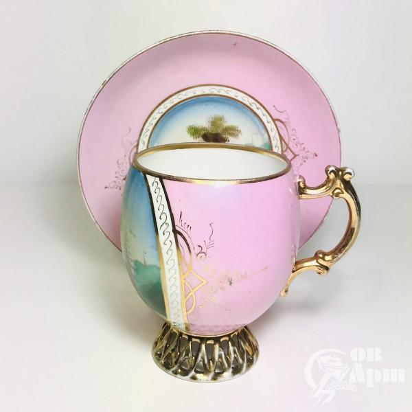 Крупный чайный бокал «Пейзаж»
