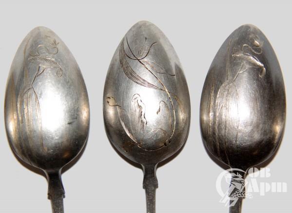 Ложки десертные с гравировкой