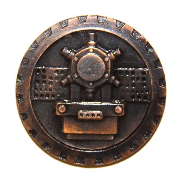 """Медаль """"50 лет советскому станкостроению"""""""